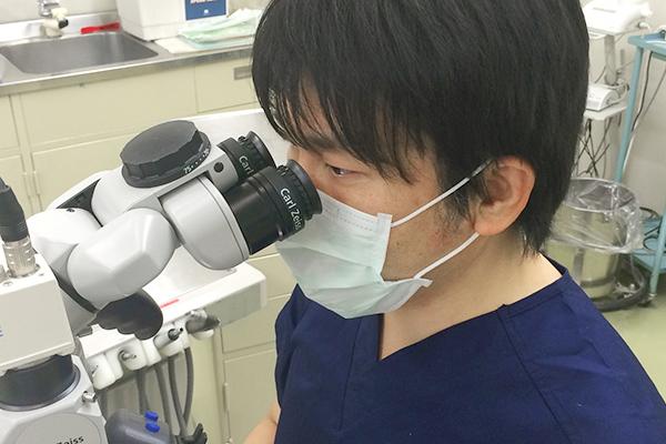 手術用顕微鏡による精密な根管治療(マイクロエンド)とは
